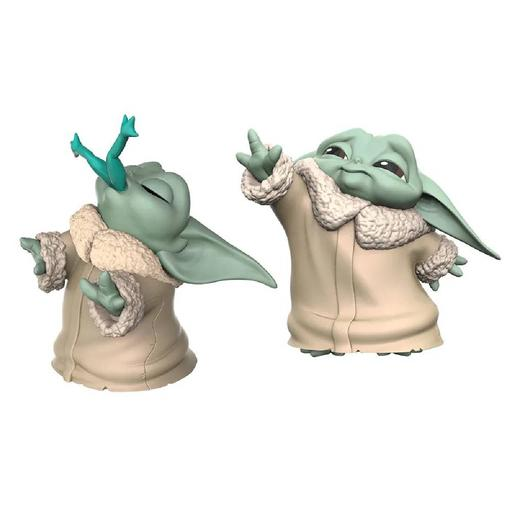 Star Wars - Baby Yoda The Child - Pack Figuras 6,3 cm Rana y Fuerza