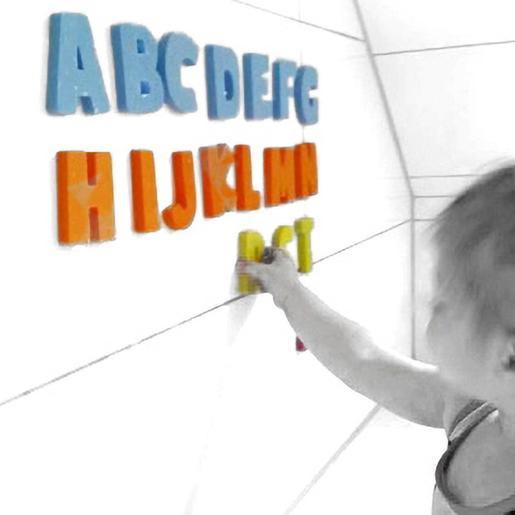 """Figuras eva para el baño """"alphabets"""""""