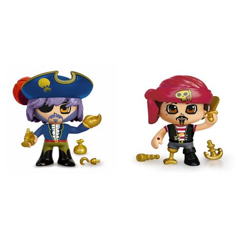 Pinypon - Blíster 2 Figuras Piratas Pinypon Action