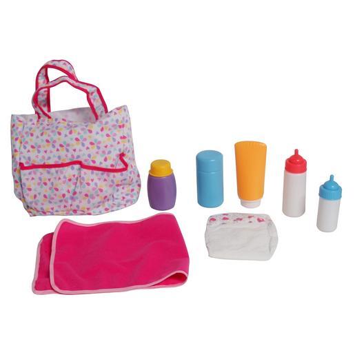 Bolsa Porta-Pañales con Accesorios para Muñeco