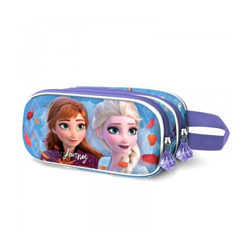 Frozen - Estuche portatodo doble 3D Journey