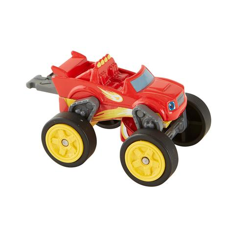 Fisher Price - Flip & Race Blaze - Vehículo Blaze y los Monster Machines