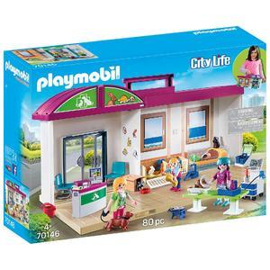 Playmobil – Clínica Veterinaria Maletín – 70146