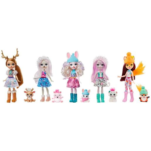 Enchantimals - Pack 5 Muñecas Valle Nevado