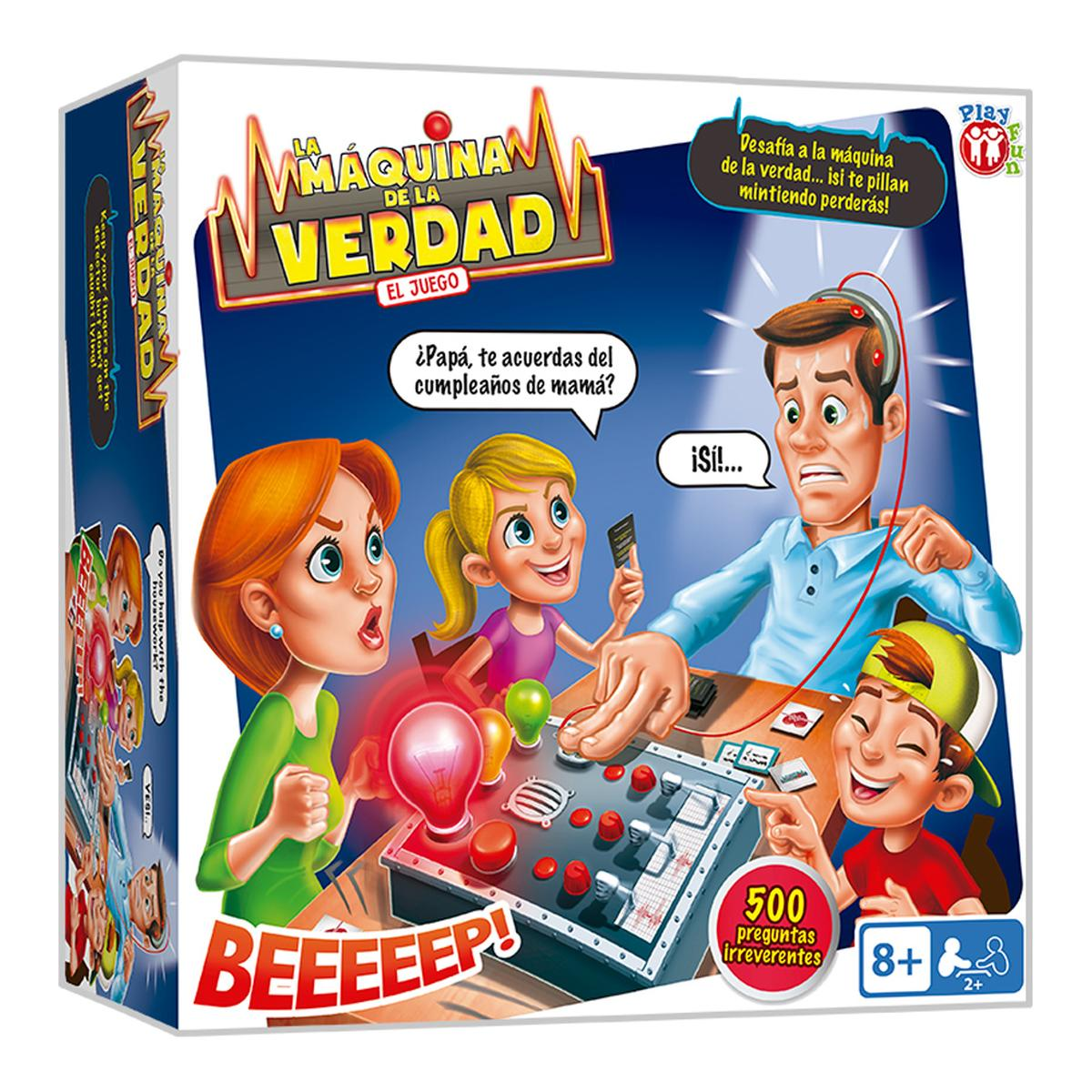 Máquina De La Verdad Juegos Niños 5 Años Tienda De Juguetes Y Videojuegos Juguetería Online Toysrus