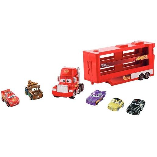 Cars - Mack Transportador con 5 Mini Racers