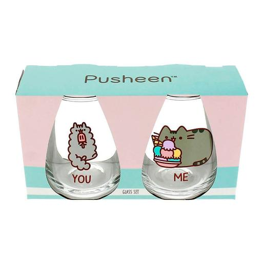 Pusheen - Set 2 Vasos You & Me