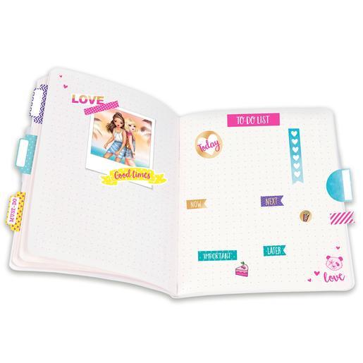 Cuaderno de sticker Topmodel oro