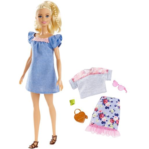 Barbie - Muñeca Fashionista Sweet Bloom