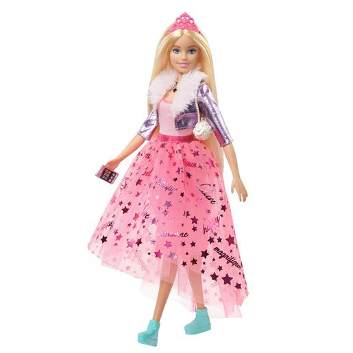 Barbie - Muñeca Rubia Princess Adventure