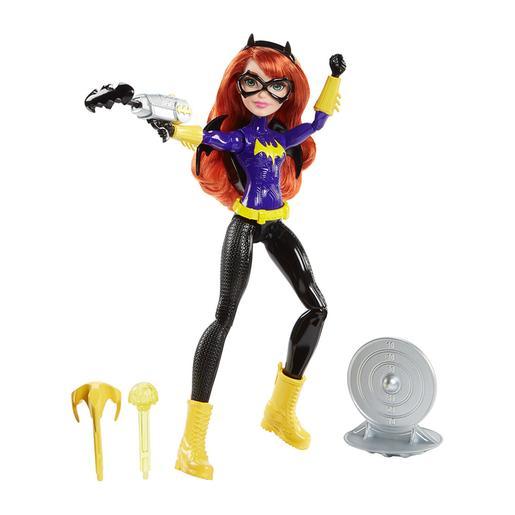 DC Super Hero Girls -  Muñeca Batgirl y su Batlanzador
