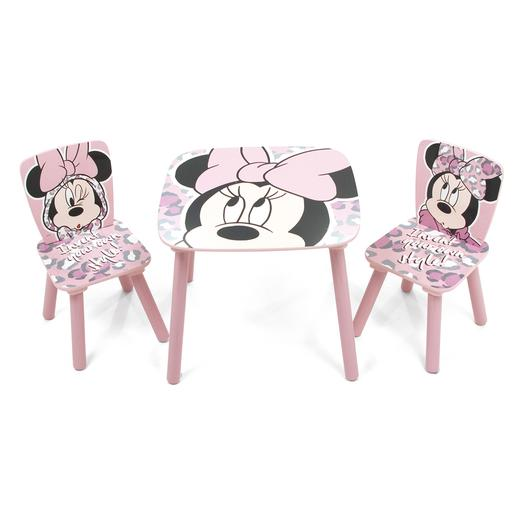 Minnie Mouse - Set de Mesa y Sillas