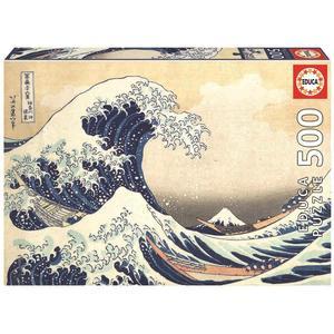 Educa Borrás – La gran ola de Kanagawa – Puzzle 500 piezas