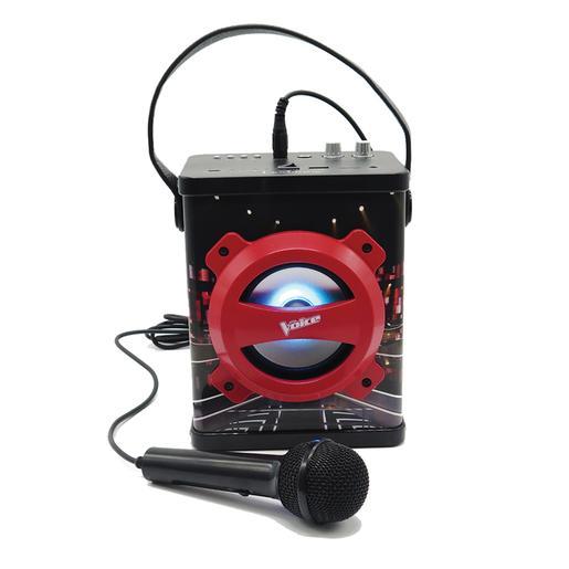 La Voz - Altavoz Karaoke con Bluetooth