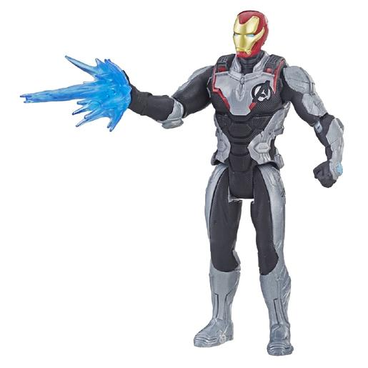 Los Vengadores - Iron Man Figura Team Suit