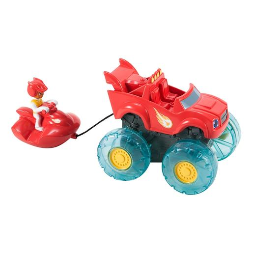 Fisher Price - Blaze y los Monster Machines - Blaze y AJ Esquí Acuático