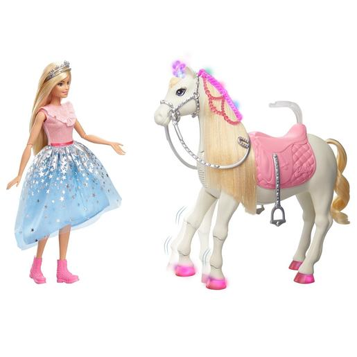 Barbie - Muñeca con Caballo Princess Adventure