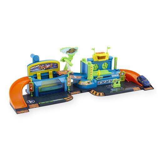 Fast Lane - Playset Lavado de Vehículos