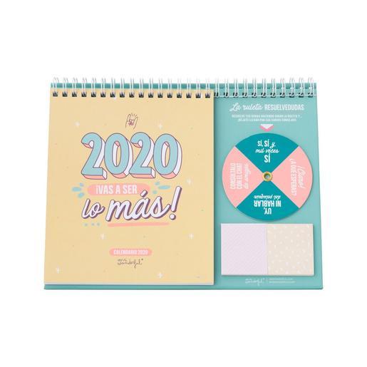 Mr. Wonderful - 2020, ¡Vas a Ser Lo Más! - Calendario de Sobremesa