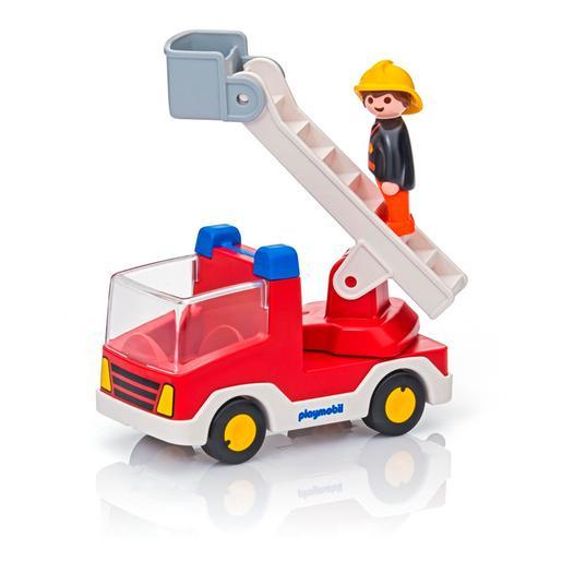Playmobil - 1.2.3 Camión de Bombero - 6967