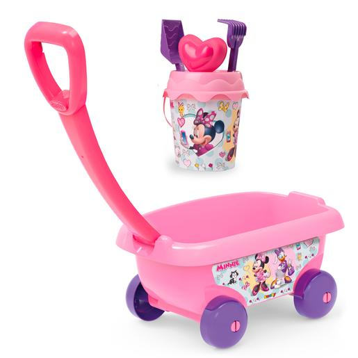 Smoby - Minnie Mouse - Carrito Playa