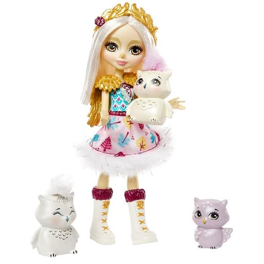 Enchantimals - Muñeca Odele Owl con Mascotas