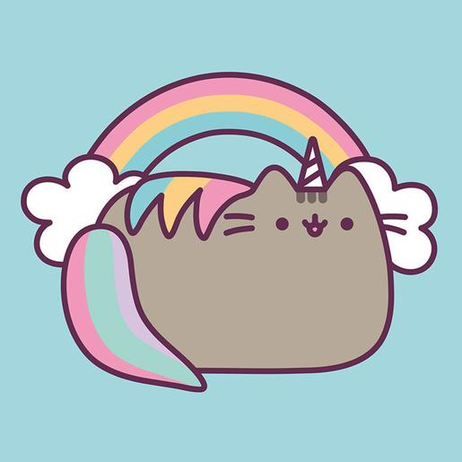 Pusheen - Canvas 30 x 30 cm Rainbow