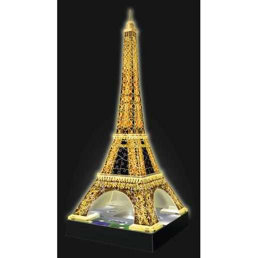 Ravensburger - Puzzle 3D Torre Eiffel Night Edition