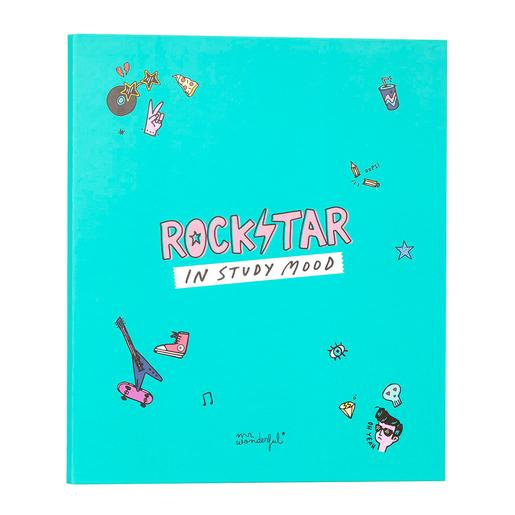 Mr. Wonderful - Rockstar In Study Mood - Carpeta Archivadora