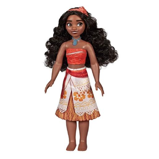 Princesas Disney - Muñeca Vaiana Brillo Real