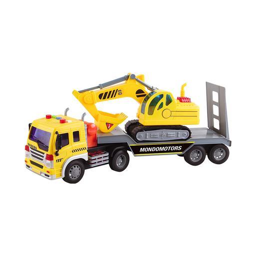 Camión con Vehículo (varios modelos)