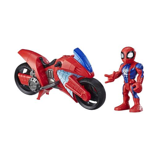 Marvel - Spider-Man y Moto Araña Super Hero Adventures