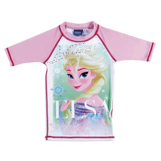 Frozen - Camiseta Lycra de Baño 8 años