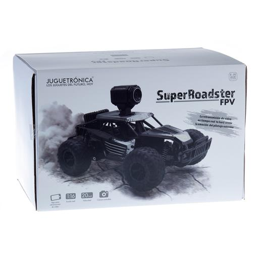 Coche Super Roadster Radio Control 1:18