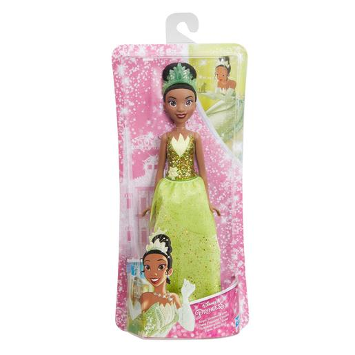Princesas Disney - Tiana- Muñeca Brillo Real