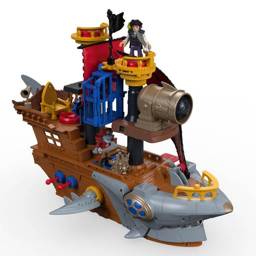 Fisher Price - Imaginext - Barco Pirata Tiburón