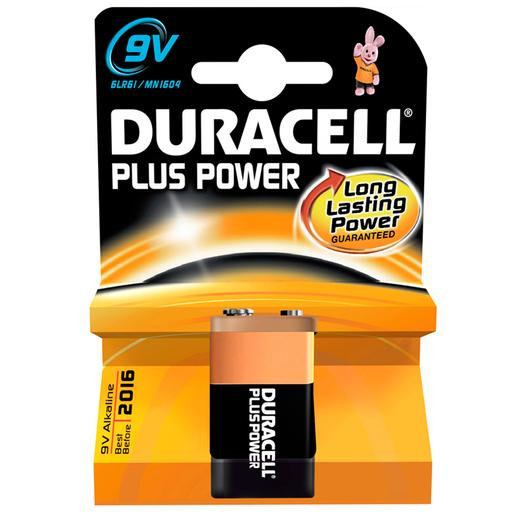 Duracell - Pila Duracell Plus 9V.