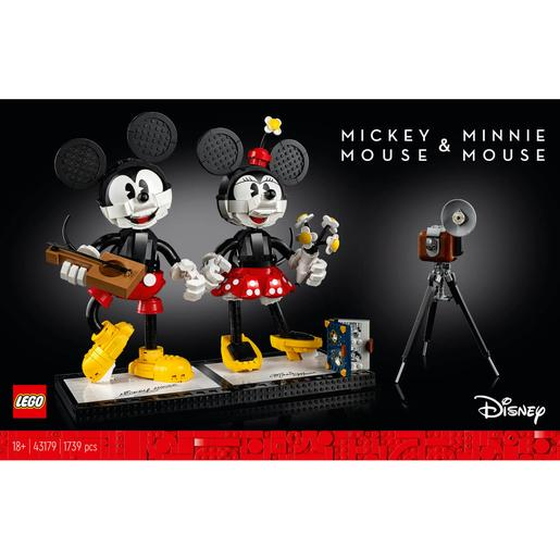 LEGO Disney Princess - Personajes construibles: Mickey Mouse y Minnie Mouse - 43179
