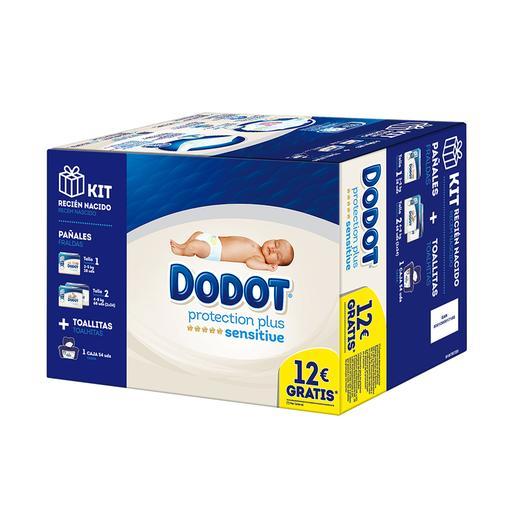Dodot - Pañales Sensitive Kit Recién Nacido
