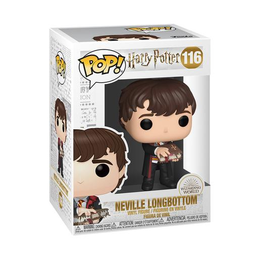 Harry Potter - Neville con Libro de Monstruos - Figura Funko POP