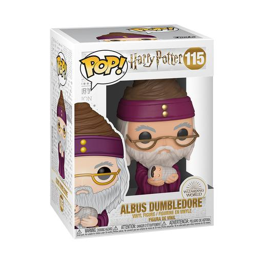 Harry Potter - Dumbledore con Harry Bebé - Figura Funko POP