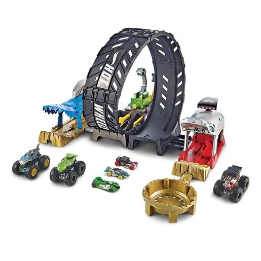 Hot Wheels - Playset Monster Trucks Mega Loop