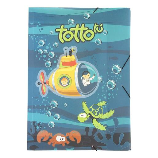 Totto - Kit Escolar Submarino - Carpeta Sencilla