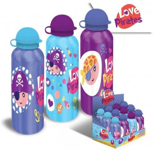 Cantimplora de aluminio Love Pirates 500 ml (varios modelos)