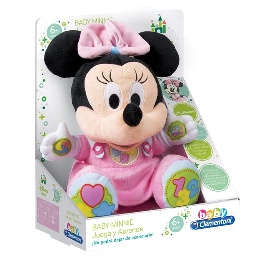 Disney baby - Minnie Mouse - Peluche Educativo Baby Minnie