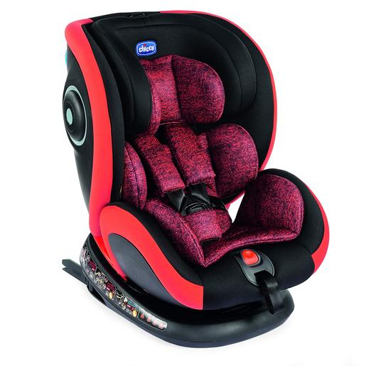 Chicco - Silla Coche Seat4Fix (Gr. 0+/1/2/3) Isofix Poppy Red Chicco