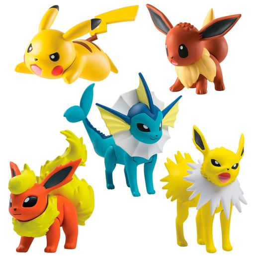 Pokémon - Pack 5 Figuras