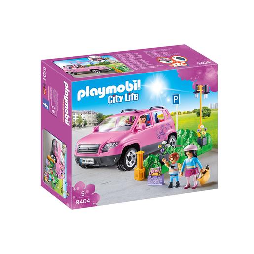 Playmobil City Life - Coche familiar con parking - 9404