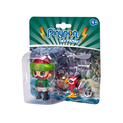 Pinypon Action - Pack Pirata y Loro