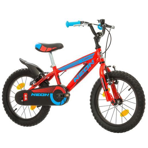 Avigo - Bicicleta Neon 16 Pulgadas Roja